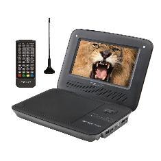 NEVIR DVD PORTATIL NEVIR NVR-2754 7'' TDT HD USB LECTOR DE TARJETAS