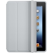 APPLE FUNDA DE POLIURETANO APPLE  IPAD 3 SMART CASE GRIS CLARO, COMPLETA