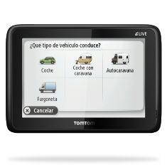 """TOMTOM GPS TOMTOM GO LIVE CARAVANAS Y CAMPING EU 45 5"""" BLUETOOTH"""