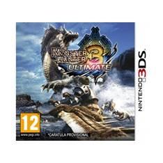 NINTENDO JUEGO NINTENDO 3DS - MONSTER HUNTER 3: ULTIMATE