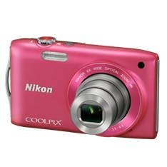 "NIKON KIT CAMARA DIGITAL NIKON COOLPIX S3300 ROSA 16 MP ZO 6X HD LCD 2.7"" LITIO + SD 4GB + ESTUCHE + 5 AÑOS DE GARANTIA"