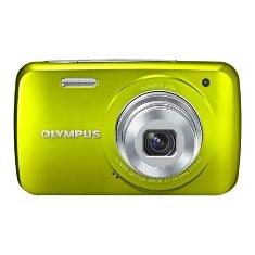 "OLYMPUS KIT CAMARA DIGITAL OLYMPUS VH-210 VERDE 14 MP ZO X 5 HD LCD 3"" LITIO + FUNDA"