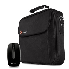 "PHOENIX TECHNOLOGIES KIT MALETIN PHOENIX PHANDBAG PORTATIL NETBOOK 12""+ MOUSE PHOENIX PH1020W 1000DPI USB NEGRO"