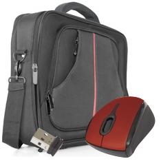 PHOENIX TECHNOLOGIES KIT MALETIN PHOENIX PRAGUE15 + MINI MOUSE USB INALAMBRICO