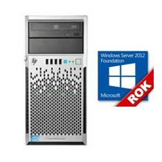 HP KIT SERVIDOR ML310 470065-800  XEON E3-1220V3/ 3.1GHZ/ 8GB DDR3/ 2X 1TB/ + FOUNDATION 2012