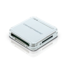 CONCEPTRONIC LECTOR TARJETAS MEMORIA CONCEPTRONIC USB EXTERNO PLATA