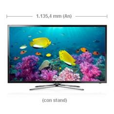 "SAMSUNG ELECTRONICS IBERIA S.A LED TV SAMSUNG 40"" UE40F5700 FULL HD TDT HD 3 HDMI 2 USB VIDEO PVR"
