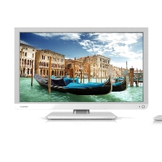 TOSHIBA LED TV TOSHIBA 22L1334G FULL HD TDT HD USB VIDEO HDMI MODO HOTEL WHITE
