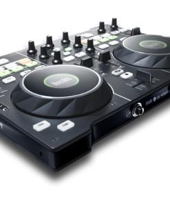 HERCULES MESA DE MEZCLAS HERCULES DJ 4 SET / 4 DECKS / 116 COMANDOS MIDI / PORTATIL