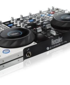 HERCULES MESA DE MEZCLAS HERCULES DJ CONSOLE 4-MX / 4 DECKS / 170 COMANDOS MIDI / PORTATIL / CARCASA METALICA