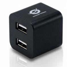 CONCEPTRONIC MINI HUB EXTERNO CONCEPTRONIC USB 2.0 CON 4 PUERTOS NEGRO