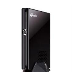 GIADA MINI PC MULTIMEDIA GIADA SLIM I33 NEGRO ATOM D525 DDR3 2GB / 500GB / 4X USB 2.0 / LECTOR TARJETAS / HDMI / WIFI / VGA