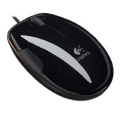 LOGITECH MOUSE LOGITECH LASER LS1 GRAPE-JAFFA FLASH USB NEGRO