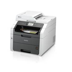BROTHER MULTIFUNCION BROTHER LASER COLOR MFC-9340CDw FAX A4/24PPM/128MB/USB/RED/DUPLEX
