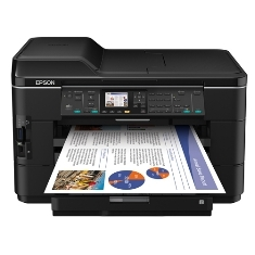EPSON MULTIFUNCION EPSON INYECCION COLOR WORKFORCE WF7525 FAX/ A3+/ 15PPM/ USB/ RED/ WIFI/ DUPLEX A4