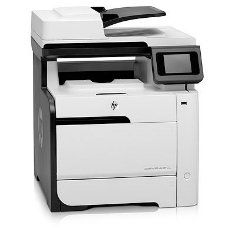 HP MULTIFUNCION HP LASER COLOR LASERJET PRO 300 M375NW  18PPM/ RED / WIFI/ FAX/ EPRINT