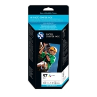 HP MULTIPACK HP 57 Q7942AE DJ 5600 + 60 HOJAS FOTOGRAFICAS