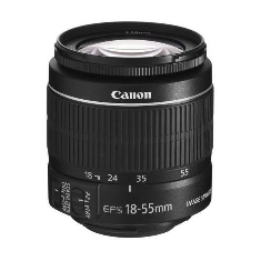 CANON OBJETIVO CANON EF-S 18-55MM 3.5-5.6 IS II