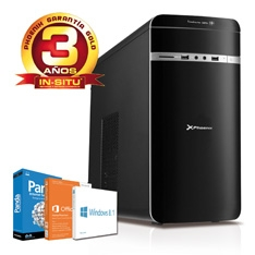 PHOENIX TECHNOLOGIES ORDENADOR PHOENIX CASIA TR4 INTEL I5 1150 WIN 8  OFFICE DDR3 4GB 1TB, VGA GFORCE 630 2GB, RW