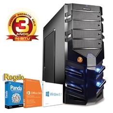 PHOENIX TECHNOLOGIES ORDENADOR PHOENIX CASIA TR4 INTEL I7 1150 WIN 8 OFFICE DDR3 8GB 1TB, VGA GFORCE 660 GDDR5 2GB, RW