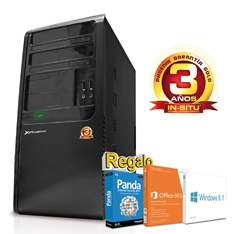 PHOENIX TECHNOLOGIES ORDENADOR PHOENIX HOME INTEL G1610 4 GB DDR3 500GB RW WIN 8 OFFICE