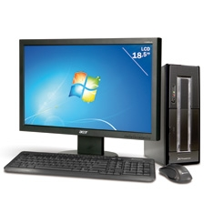"PHOENIX TECHNOLOGIES ORDENADOR PHOENIX OBERON 4311 INTEL, 500GB, DDR3 4GB, MONITOR 19"""