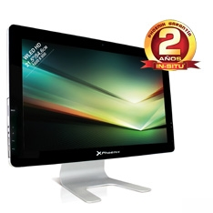 "PHOENIX TECHNOLOGIES ORDENADOR SOBREMESA PHOENIX CONSTELLATION ALL IN ONE AIO, 21.5"", INTEL  DDR3 2GB, 320GB, RW, WEBCAM, LECTOR DE TARJETAS"