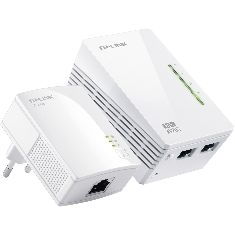 TP-LINK PACK 1 ADAPTADOR DE RED WIFI + 1 NORMAL LINEA ELECTRICA 200 MBPS POWER LINE TP-LINK