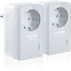 TP-LINK PACK X2 ADAPTADORES DE RED LINEA ELECTRICA 500MBPS POWER LINE TP-LINK