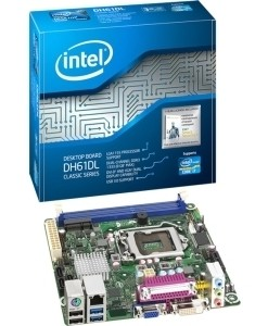 INTEL CORPORATION IBERIA, S.A. PLACA BASE INTEL BLKDH61DLB3, INTEL i7, LGA 1155, DDR3 MAXIMO 8GB, DVI, VGA, USB 3.0, MINI ITX, BULK