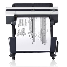 "CANON PLOTTER CANON IPF605 A1 24""/ 2400PPP/ 256MB/ USB/ RED/ SIN PEDESTAL"