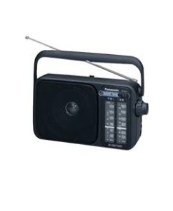 PANASONIC ESPAÑA, S.A. RADIO PANASONIC RF-2400 SINTONIZADOR AM/FM DISPLAY DIGITAL ILUMINACION LED/ ALTAVOZ DINAMICO 4""