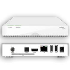 QVIART RECEPTOR SATELITE DE SOBREMESA QVIART UNDRO PVR USB, HDD, HDMI LECTOR CONAX,RED, WIFI, 3G