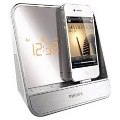 PHILIPS RELOJ RADIO PHILIPS CON ALTAVOZ DOCKING PARA IPOD / IPHONE
