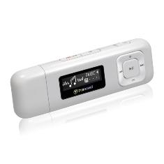 TRANSCEND REPRODUCTOR MP3 TRANSCEND 8GB + FM T.SONIC 330 , BLANCO