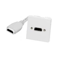 A DETERMINAR ROSETA FIJA HDMI PARA PARED H/H