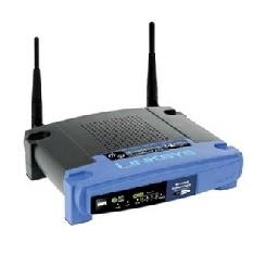 LINKSYS ROUTER WIFI + PUNTO DE ACCESO INALAMBRICO W/ 4-PORT SWITCH 802.11G LINUX