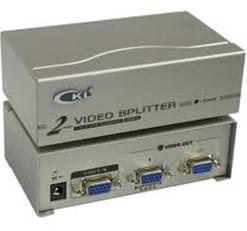 A DETERMINAR SPLITTER VGA CKL 2 PANTALLAS HIFI 350MHz