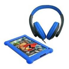 "POINT OF VIEW B.V. TABLET PC POINT OF VIEW MOBII 720 / LCD 7"" CAPACITIVA / ANDROID 4.2 / 512MB DDR3 / 4GB / WIFI / CAMARA FRONTAL 0.3MP / CAMARA TRASERA 1.3MP / + AURICULARES Y FUNDA DE PROTECCION AZUL"