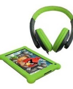 """POINT OF VIEW B.V. TABLET PC POINT OF VIEW MOBII 720 / LCD 7"""" CAPACITIVA / ANDROID 4.2 / 512MB DDR3 / 4GB / WIFI / CAMARA FRONTAL 0.3MP / CAMARA TRASERA 1.3MP / + AURICULARES Y FUNDA DE PROTECCION VERDE"""