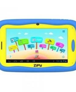 """ZIPY TABLET PC ZIPY SMART FUN KID NIÑOS ZIP221 / 7"""" / ANDROID 4.1.1 / 512MB RAM / 4GB / WIFI / CAMARA FRONTAL 0.3MP / AZUL Y AMARILLA + FUNDA DE PROTECCION"""