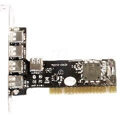LONGSHINE IBERIA S.L. TARJETA PCI 4+1 PUERTOS USB 2.0 480MBPS