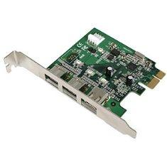 A DETERMINAR TARJETA PCI EXPRESS 2 FIREWIRE 1394 800 MBPS +1 400 MBPS