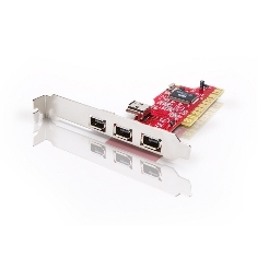 CONCEPTRONIC TARJETA PCI FIREWIRE  CON 3 PUERTOS IEEE 1394 / 400 MBPS  CONCEPTRONIC
