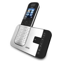 "AEG TELECOMUNICAÇOES, S.A. TELEFONO INALAMBRICO DECT AEG VOXTEL D-575 DISPLAY COLOR 1.8"" LCD, METAL"