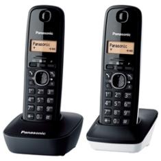 PANASONIC ESPAÑA, S.A. TELEFONO INALAMBRICO DIGITAL DECT PANASONIC KX-TG1612SP1, DUO BLANCO Y NEGRO