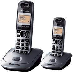 PANASONIC ESPAÑA, S.A. TELEFONO INALAMBRICO DIGITAL DECT PANASONIC KX-TG2512SPM, DUO, GRIS METALICO
