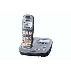 PANASONIC ESPAÑA, S.A. TELEFONO INALAMBRICO DIGITAL DECT PANASONIC KX-TG6571SPM PARA PERSONAS MAYORES MANOS LIBRES TECLADO ILUMINADO GRIS