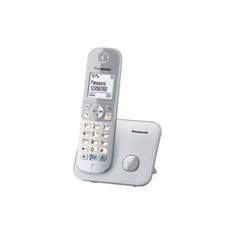 PANASONIC ESPAÑA, S.A. TELEFONO INALAMBRICO DIGITAL DECT PANASONIC KX-TG6811SPB  MANOS LIBRES TECLADO ILUMINADO PLATA