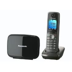 PANASONIC ESPAÑA, S.A. TELEFONO INALAMBRICO DIGITAL DECT PANASONIC KX-TG8611SPM PLATA MANOS LIBRES CON BLUETOOTH ECO